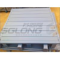 Quality Waterproof Galvanized Powder Coating Steel Metal Pallets Single Faced Eco-Friendly for sale