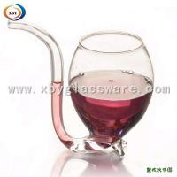 Quality Borosilicate glass wine cup for sale