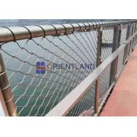 Quality Building Facade Screens Stainless Steel Wire Rope Mesh Balustrade & Railing Mesh Bird Protection Netting for sale
