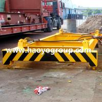 Quality shanghai HAOYO Yellow semi-auto container lifting spreader frame 20 feet for sale
