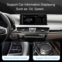 Quality Qualcomn Snapdragon DVD GPS Navigation For BMW X1 F48 2016-2017 Android 10 for sale