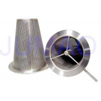 Quality Conical Sintered Filter Stainless Steel Elements For Purification And Filtration for sale
