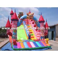Quality Customized Inflatable Dry Slide In Teddy Bear Design For Sale for sale