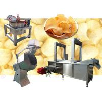 Buy cheap GELGOOG Tapioca Potato Chips Production Line Factory in China 200KG/H 380V from wholesalers