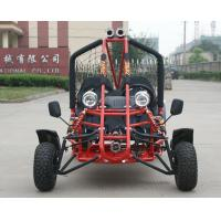 Buy cheap 110cc Air Cooled CDI Electirc Start Single Seat Go Kart Tray Brake 12V 6.5AH Battery from wholesalers