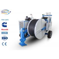 7500kg Transmission Line Equipment Max Continuous Tension 2X70KN Hydraulic Laying Tensioner