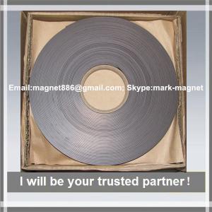 China Magnetic strip; Flexible rubber magnet strip Магнитная лента 12,7 тип А и B без клеевого слоя on sale