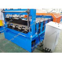 Quality Custom Metal Deck Roll Forming Machine , High Speed Cold Forming Machine for sale