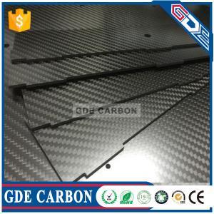 Quality GDE 3K Twill Carbon Fiber Laminate Sheet,3K Carbon Fiber Plate for sale