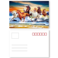 Buy Custom Animal Designs Animation 0.35mm  PET 3D Lenticular Card at wholesale prices