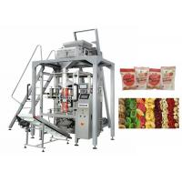 Quality Dried Fruit Linear Weigher Packing Machine 5 - 70 Bags / Min Packing Speed for sale