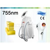 Quality 755nm Painless Facial Hair Removal Laser , Alexandrite Laser Hair Removal Machine for sale