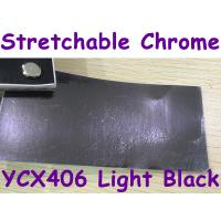 Buy cheap Stretchable Chrome Mirror Car Wrapping Vinyl Film - Chrome Light Black from wholesalers