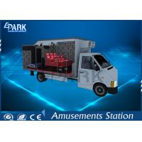China Electric Servo Control 7D Cinema Simulator / 5D Cinema Chair Hydraulic On Truck on sale