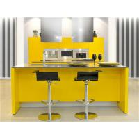 China hot items of pictures of kitchen cabinet/glass door kitchen cabinet on sale