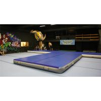 Quality Double Wall Fabric Material Inflatable Crash Mat Inflatable Gym Equipment 12*6m for sale