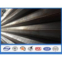 Quality 11m Q345 Polygonal Hot dip Galvanized Electric Transmission Steel Pole for sale