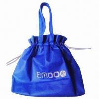 China PP Nonwoven Drawstring Bag, Eco-friendly, Durable and Waterproof, Suitable for Shopping Purposes on sale