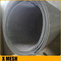 Quality Superior 12mesh* 0.7mm wire stainless steel window screen for Soundproof for sale