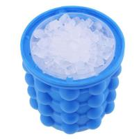 Quality Multi Functional Silicone Ice Cube Maker Food Grade Ice Buckets Saving Space for sale