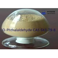 Buy cheap Yellow Needle Crystal Pharmaceutical IntermediatesO-Phthalaldehyde CAS 643-79-8 from wholesalers