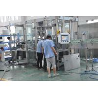Quality PET Soda Filling Machine , Automatic Water Bottle Filling Machine With Reliable Performance for sale
