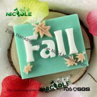 "China Nicole H0005 Four Season Theme ""Fall"" Design Handmade Silica Gel Natural Soap Moulds Factory Outlet on sale"