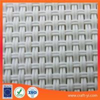 China white color solar sunshade fabric Textilene solar screens on sale