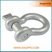 Best Hot Dipped Screw Pin Bow Shackle wholesale