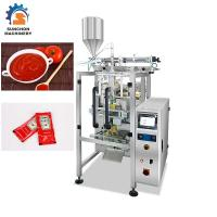 Quality Automatic Vertical Liquid Packing Machine For Ketchup / Tomato Paste Sachet for sale