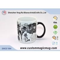 Buy Ceramic Custom Magic Photo Mug with Handle , Funny Heat Reactive Coffee Mugs at wholesale prices