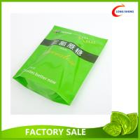 Best Resealable Zip Top Plastic Stand Up Bag , Spring Tea Packaging Plastic Bag wholesale