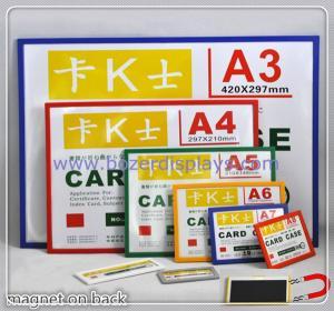Quality Display Frame Magnetic/Magnetic Poster Holder for sale