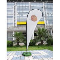 Best 2015 outdoor advertising teardrop banner wholesale