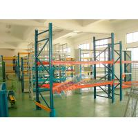 Best Double Deep Pallet Racking System For Warehouse , Each Level Adjustable Pallet Racking Box Shape Beam wholesale