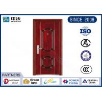 Quality 1.0 Hour Fire Rated Garage Entry Door , 8 Fire Hinges Fire Resistant Entry Door for sale