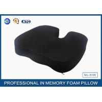 China Anti - Haemorrhoid Memory Foam Chair Cushion with Soft and air ventilate Fabric on sale