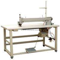 Buy cheap Long Arm Label Zigzag Mattress Sewing Machine from wholesalers