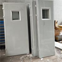 Quality 12kg polystyrene foam sandwich panel doors are widely used for prefabricated house for sale