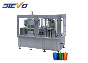 Quality PET 200ml 2200x2100x2200mm Cans Filling Machine for sale