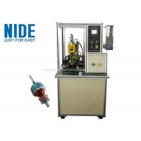 Quality Welding The Copper Wire Commutator Hook Fusing Machinery / Machinery For Mixer Motor for sale