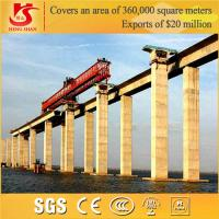 Quality 100T Trussed type bridge girder launching gantry for sale