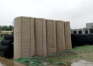 Quality Zinc Aluminum Alloy Military Hesco Barriers Hesco Defense Wall Welded Mesh for sale