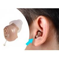 Quality Fit In Right / Left Ear Hearing Aid MachineABS Materials Long Lasting Battery for sale