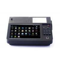 China 8 Inch Cash Register Touch Screen POS System All In One With Printer / Barcode Scanner on sale