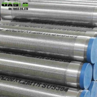 Quality Gravel Prepacked Wire Wrapped Screens , Water Well Drilling Wedge Wire Screens for sale