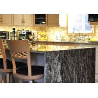 Quality Flat Edge River White Granite Worktops Polished Non Radioactivity for sale