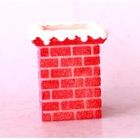 Best Christmas Red Chimney led flameless candle/battery operated candle/LED lightings wholesale