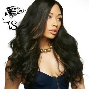 Quality Body Wave Full Lace Brazilian Human Hair Wigs , Full Head Lace Human Hair Wigs for sale
