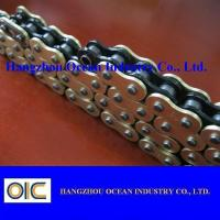 Custom 520 X Ring Motorcycle Chain With Black Inside Yellow Outerside for sale